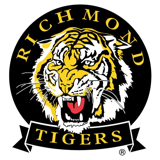 Richmond Tigers Vector Logo Richmond Football Club Richmond Afl Tiger Logo