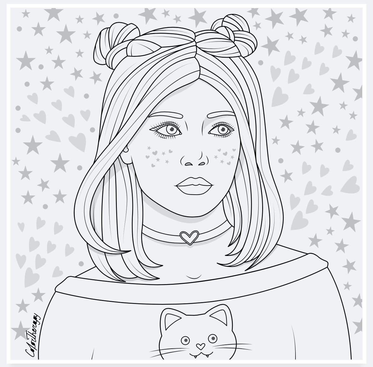 Colortherapy In 2020 Coloring Book Art Cute Coloring Pages Cool Coloring Pages