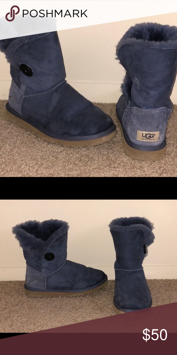 7356c107733 Women's UGG's Women Purple Bailey Button UGG boots/ No box included ...