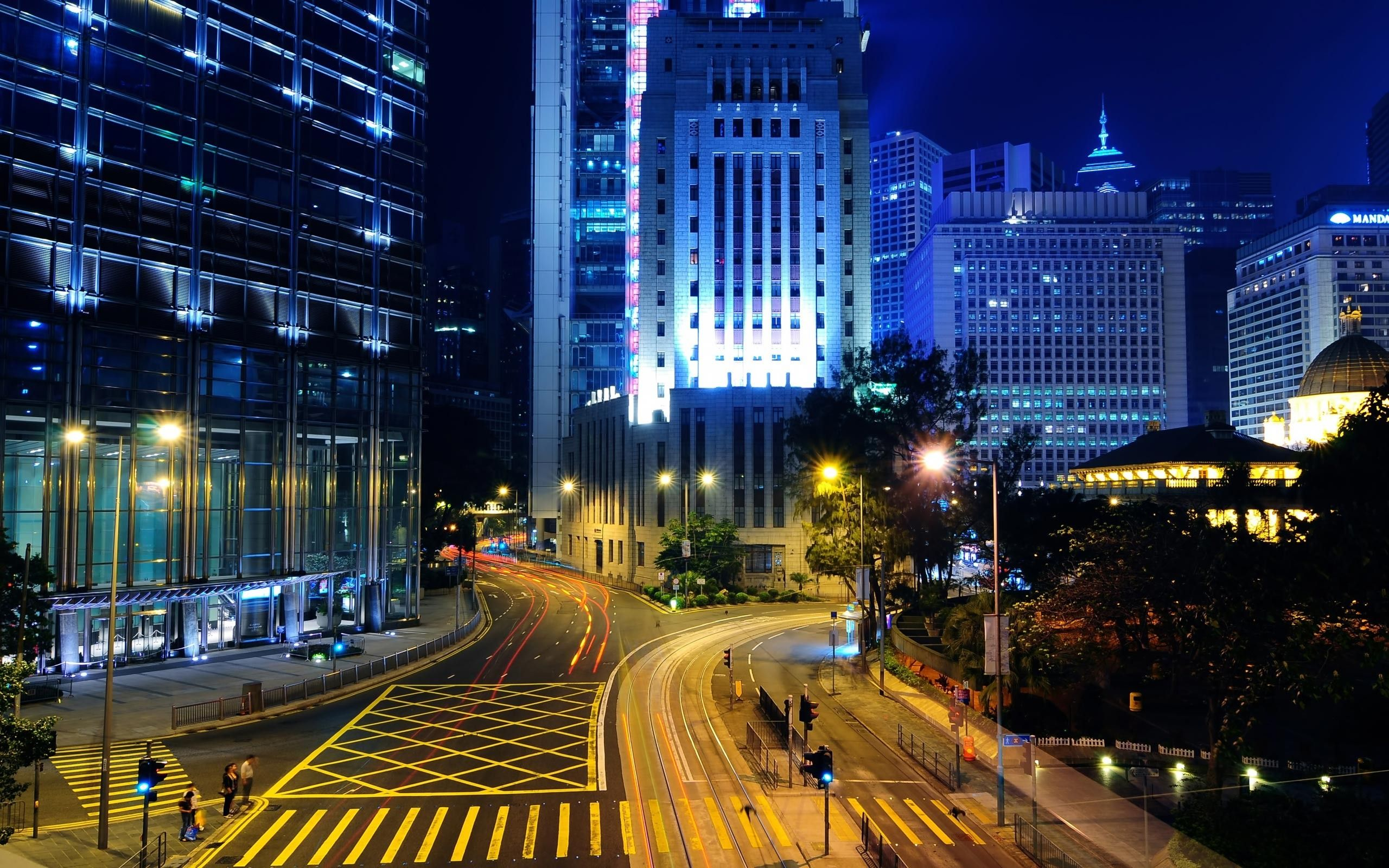 Картинки ночного город