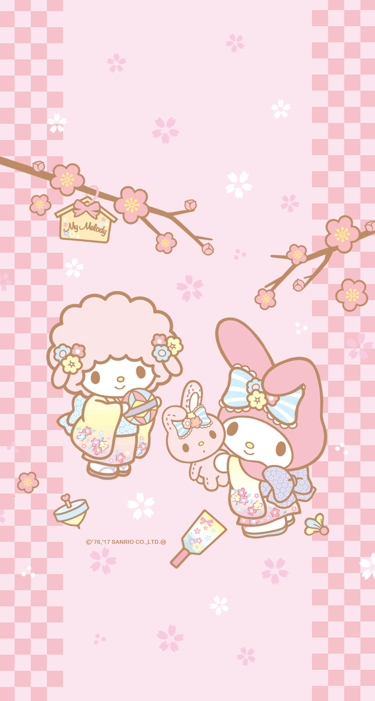My Melody My Sweet Piano My Melody Wallpaper Melody Hello Kitty Wallpaper Iphone Cute