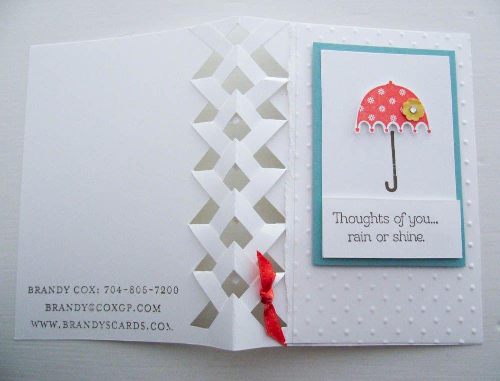 Braided card tutorial stampin up rain or shine stamp set braided card tutorial stampin up rain or shine stamp set pronofoot35fo Choice Image