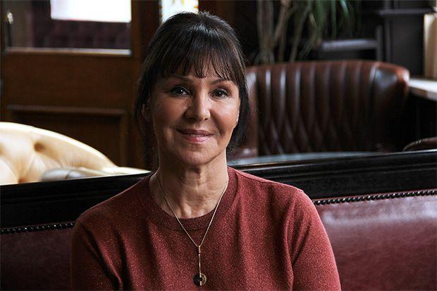 Our Fantastic Celebrity Supporter Arlene Phillips On The Set Of The