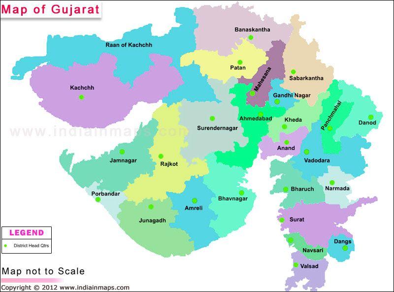map of gujarat district Gujarat District Map Political Map Of Gujarat India Find map of gujarat district
