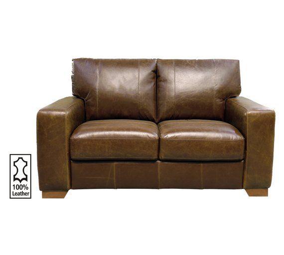Awesome Buy Heart Of House Eton 2 Seater Leather Sofa Tan At Argos Download Free Architecture Designs Scobabritishbridgeorg