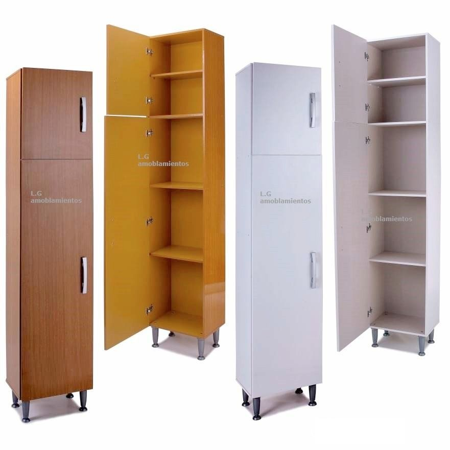 Alacena armario multiuso estanteria cocina baño con estantes ...