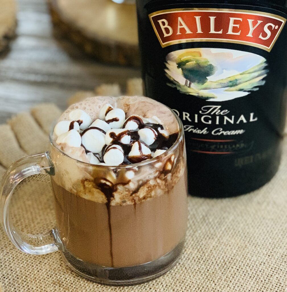 Bailey's Boozy Hot Cocoa - The Cookin Chicks