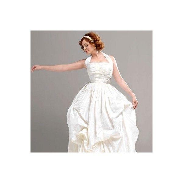 Christina Hendricks | InStyle Weddings - Christina Hendricks Photo (8731405) - Fanpop found on Polyvore