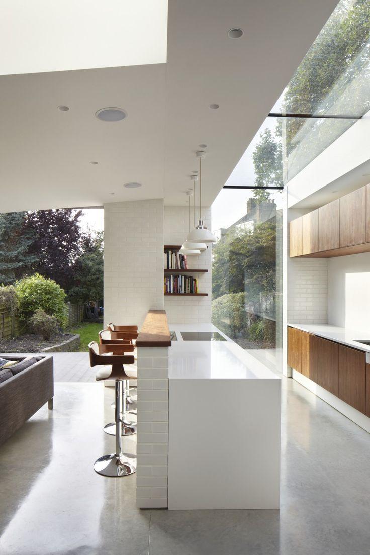 The Garden Kitchen Brief Was To Open Up The Ground Floor Living Pleasing Garden Kitchen Design Design Ideas