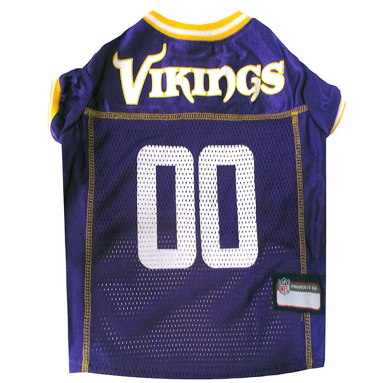Pets First Minnesota Vikings Nfl Mesh Pet Jersey X Small