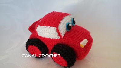 Amigurumis Navideños Patrones Gratis : Canal crochet: mini car amigurumi patrón libre carritos
