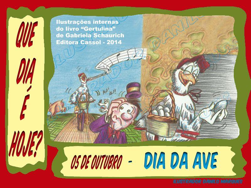 Serie Que Dia E Hoje 04 05 De Outubro Dia Da Ave E O Povo