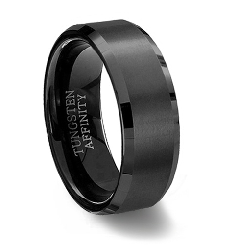 How To Decide The Best Black Metal Wedding Rings For Male Black