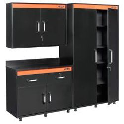 Black & Decker Garage and Workshop Wide Wall Cabinet by Black ...