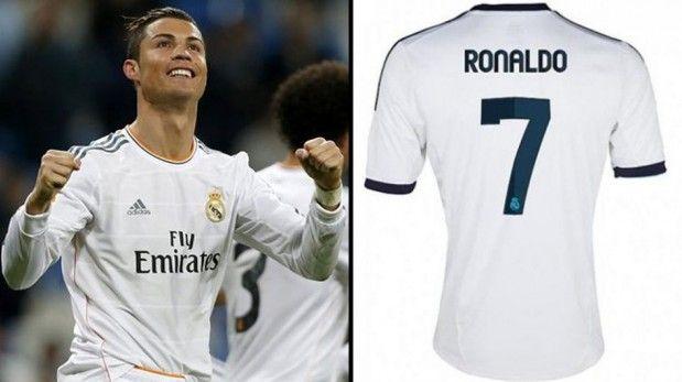 Cristiano Ronaldo, el mayor vendedor de camisetas en el mundo