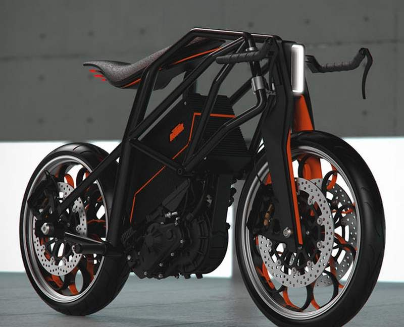 ktm ion concept motorcycle | the urban, concept motorcycles and