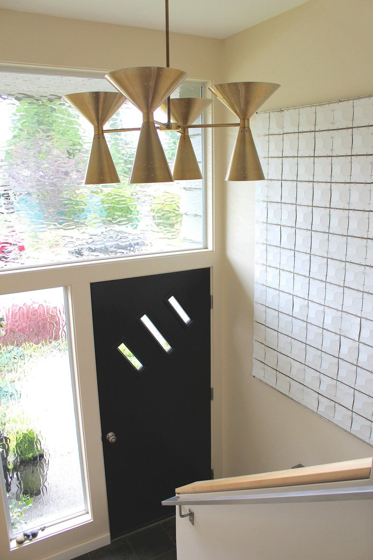 Entryway window ideas  susan u herbus handmade midcentury split level  mid century