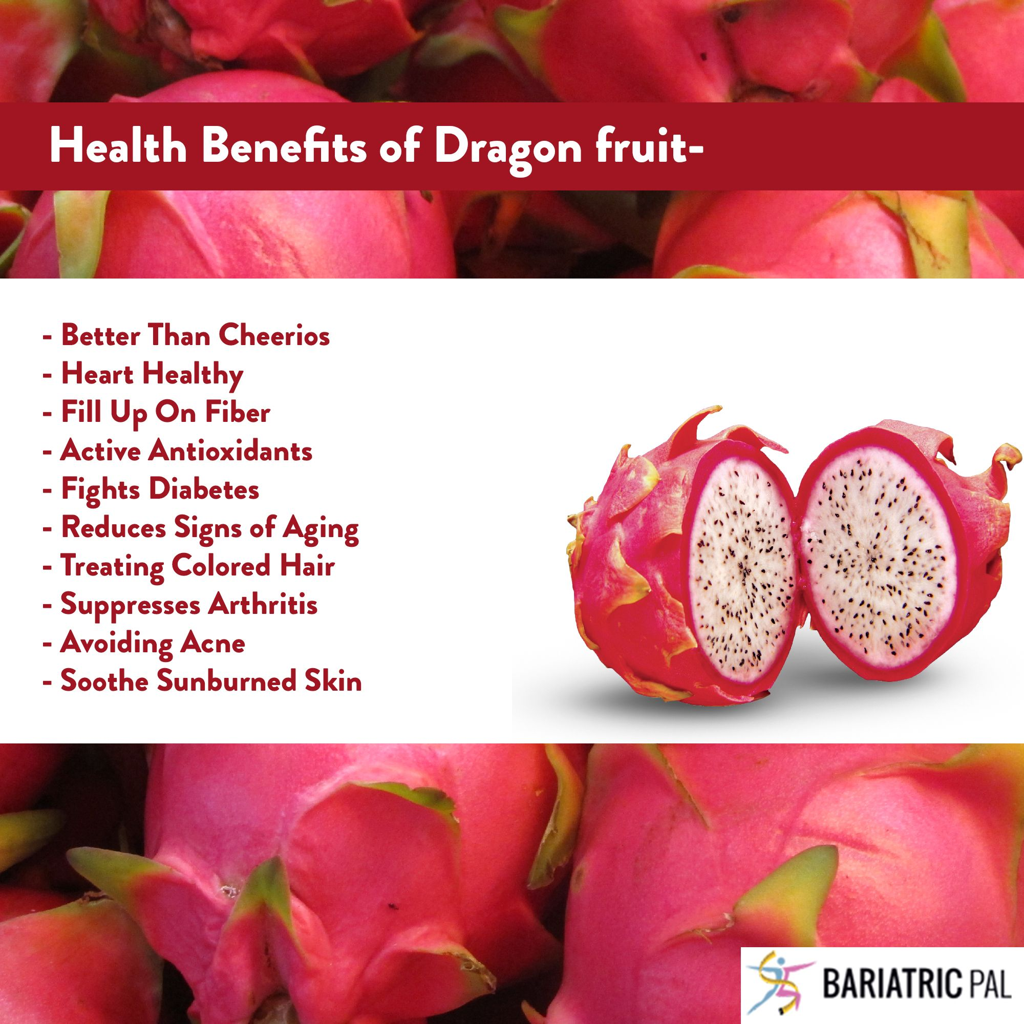 health benefits of dragon fruit:#wls #healthyfruit