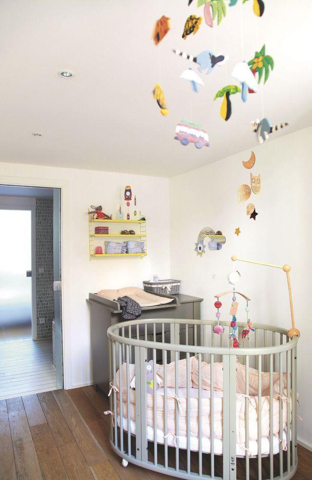 Chambre b b 3 ambiances douces et cosy chambres b b c t maison et douce - Quelle couleur chambre bebe ...