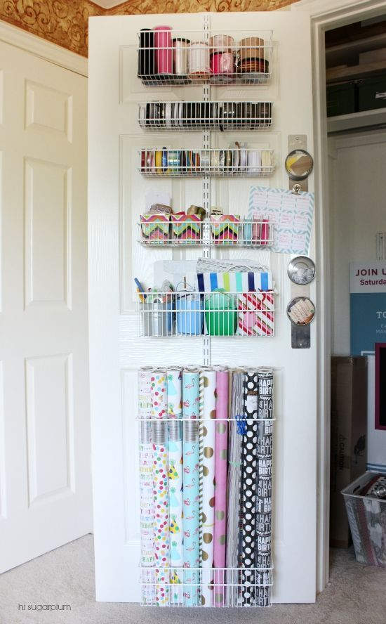 {Organized} Office Closet Befores & Plans | hi Sugarplum!