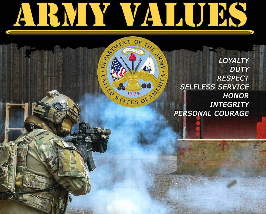 Army Values Army Values Army Patriotic Poems