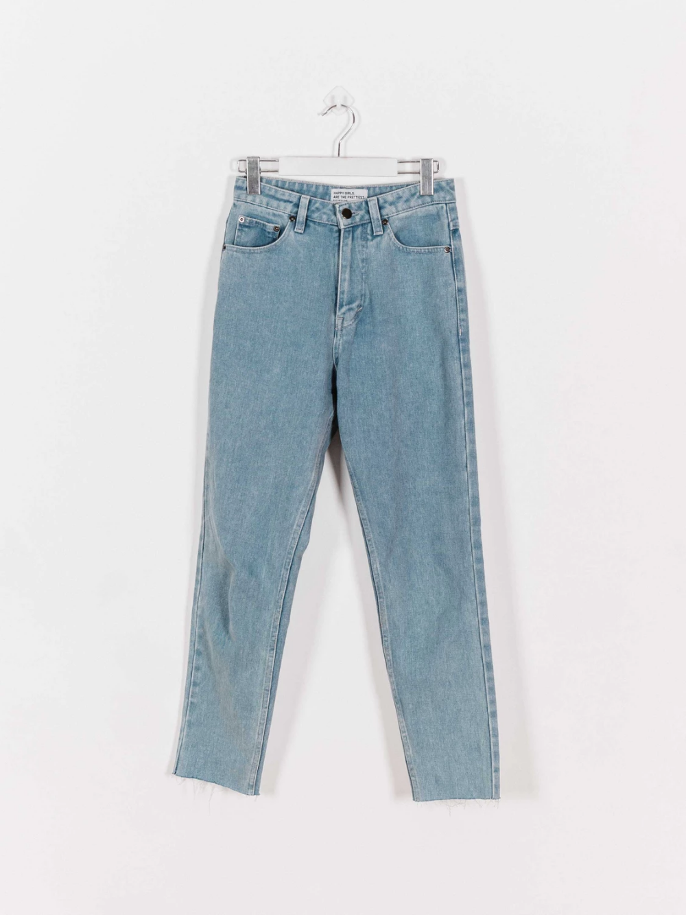 Fred Mom Jeans Blue Mom Jeans Women Denim Jeans Fashion Clothing Store