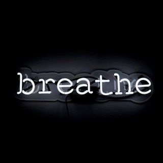 Oliver Gal 'Breathe' Neon Sign