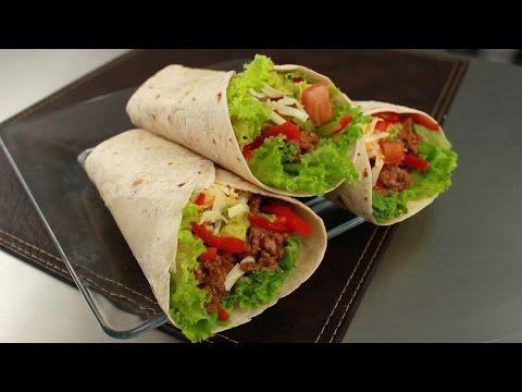 Pin En Burritos De Carne