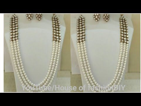 baf5be4eb Latest Fashionable Beaded Necklaces Designs||Unique Beads Necklace Designs  2018 - YouTube