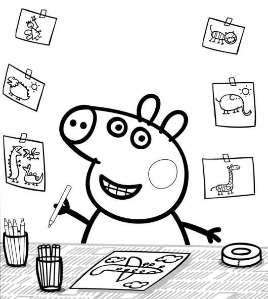 Peppa Pig Nick Jr Coloring Pages Coloring Pages Peppa Pig Coloring Pages Peppa Pig Colouring Nick Jr Coloring Pages