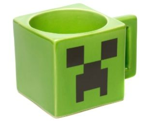 Drink Your Morning Coffee Out Of A Cool Minecraft Creeper Mug Its Cool And Nerdy And Its Microwave And Dishwasher S Face Mug Minecraft Party Supplies Creepers