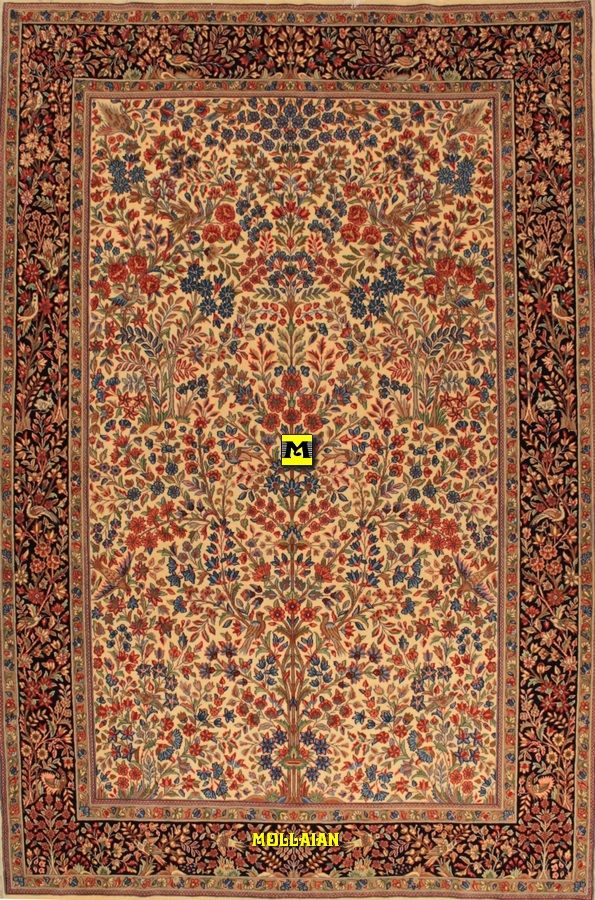 Mollaian Tappeti Kerman Ravar Extra Fine 280x181 Tappeti Kilim Tappeti Persiani