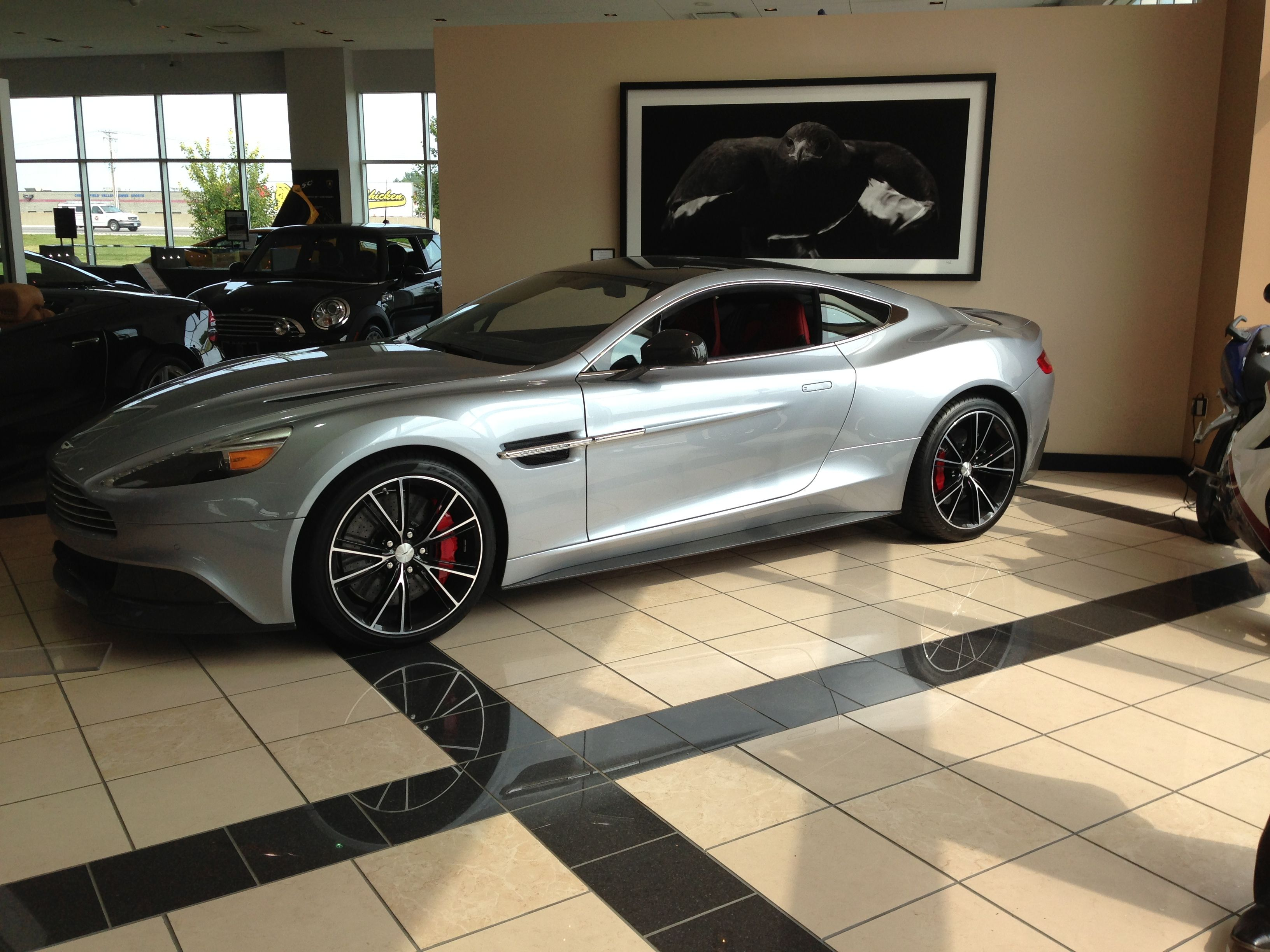 Aston Martin Vanquish In Skyfall Silver Aston Martin Vanquish Cars Bmw Car