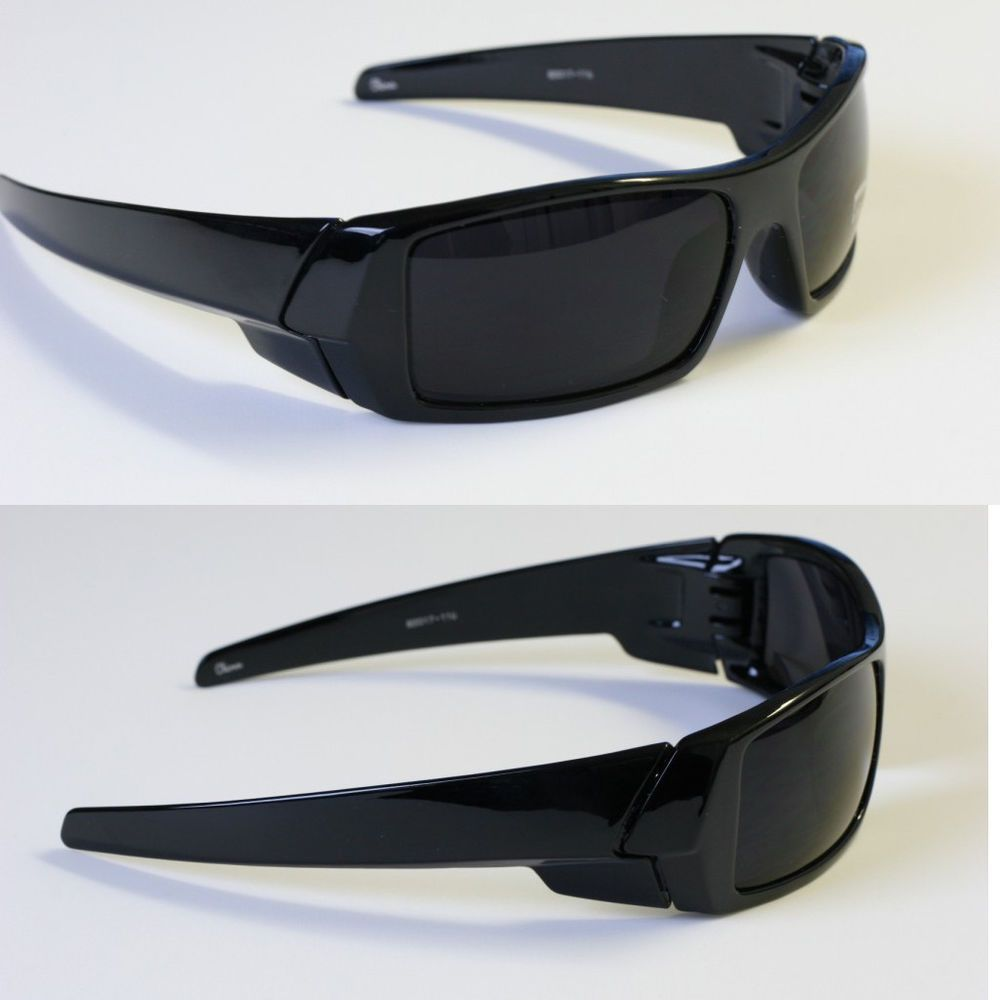 sunglasses for men offer  Men dark lens gangster black og sunglasses locs biker
