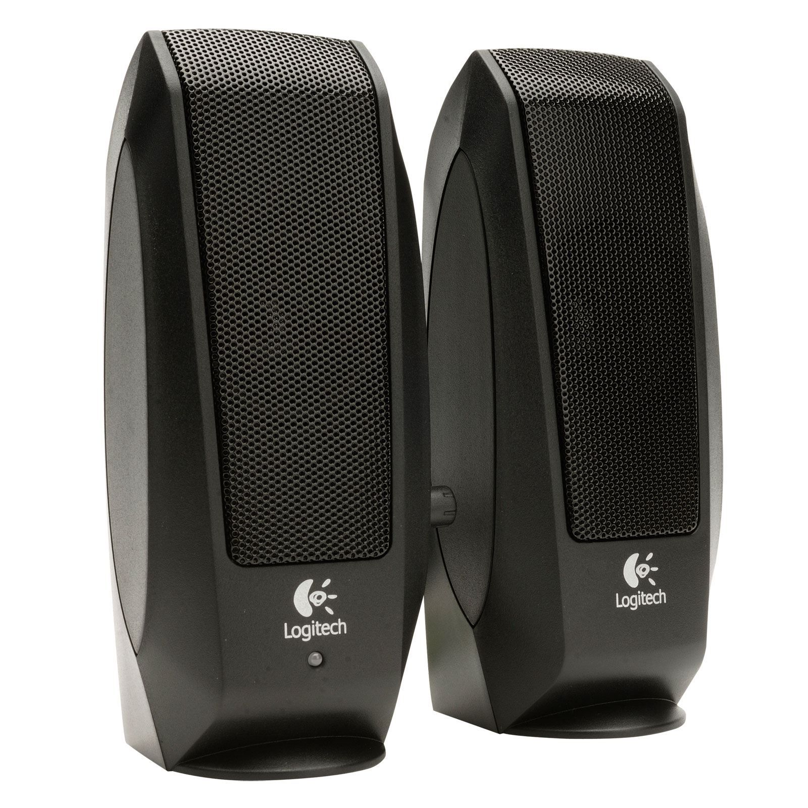 Logitech 980 000012 s120 2 piece black desktop computer speaker set - Logitech S120 Pc Speakers Brilliant Price Of 16 00