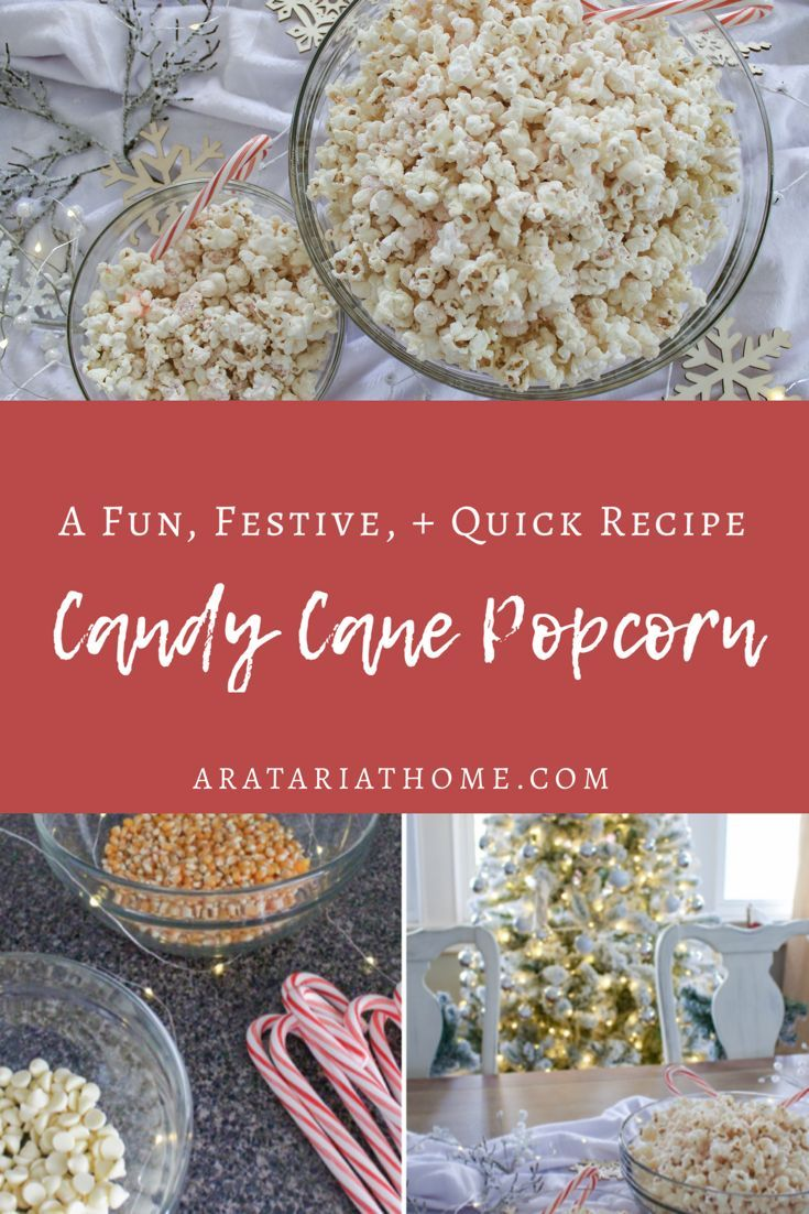 Candy Cane Popcorn Candy Cane Popcorn