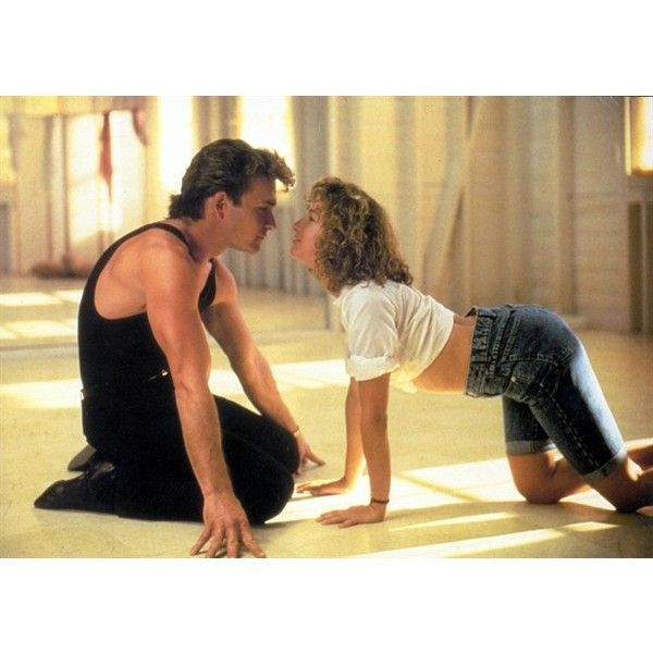 Patrick Swayze | Dirty Dancing | The FanCarpet ❤ liked on Polyvore featuring dirty dancing and people