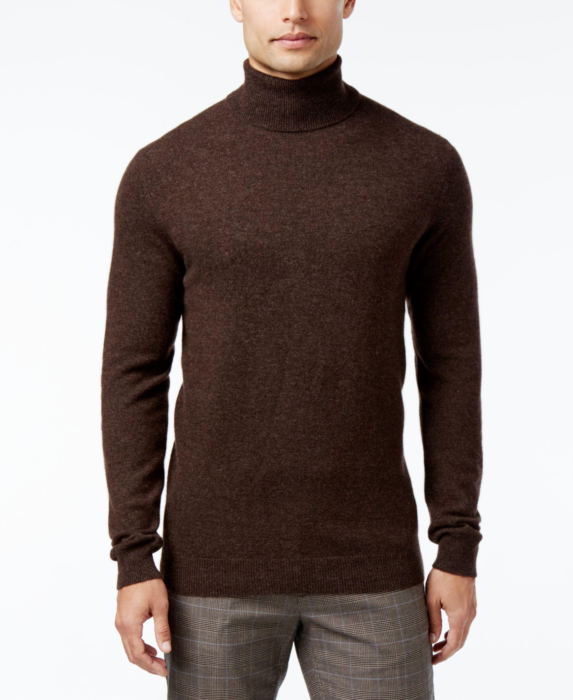 Club Room Men S Cashmere Turtleneck Sweater Only At Macy S Mens Cashmere Cashmere Turtleneck Sweaters [ 2378 x 1947 Pixel ]