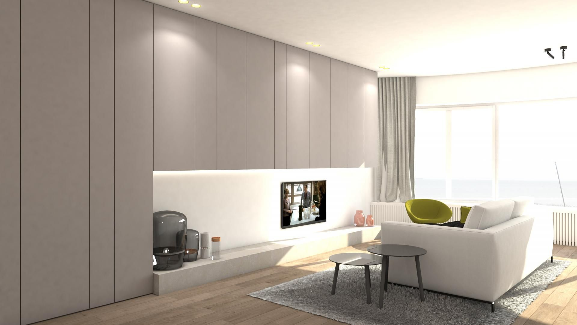 steenhuyse.com   Totaalrenovatie appartement Knokke . interieurarchitect Tielt