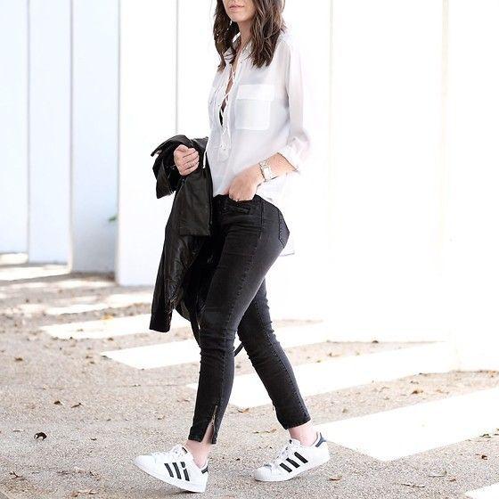Tenis de moda para mujer: Los mejores looks con zapatillas ...