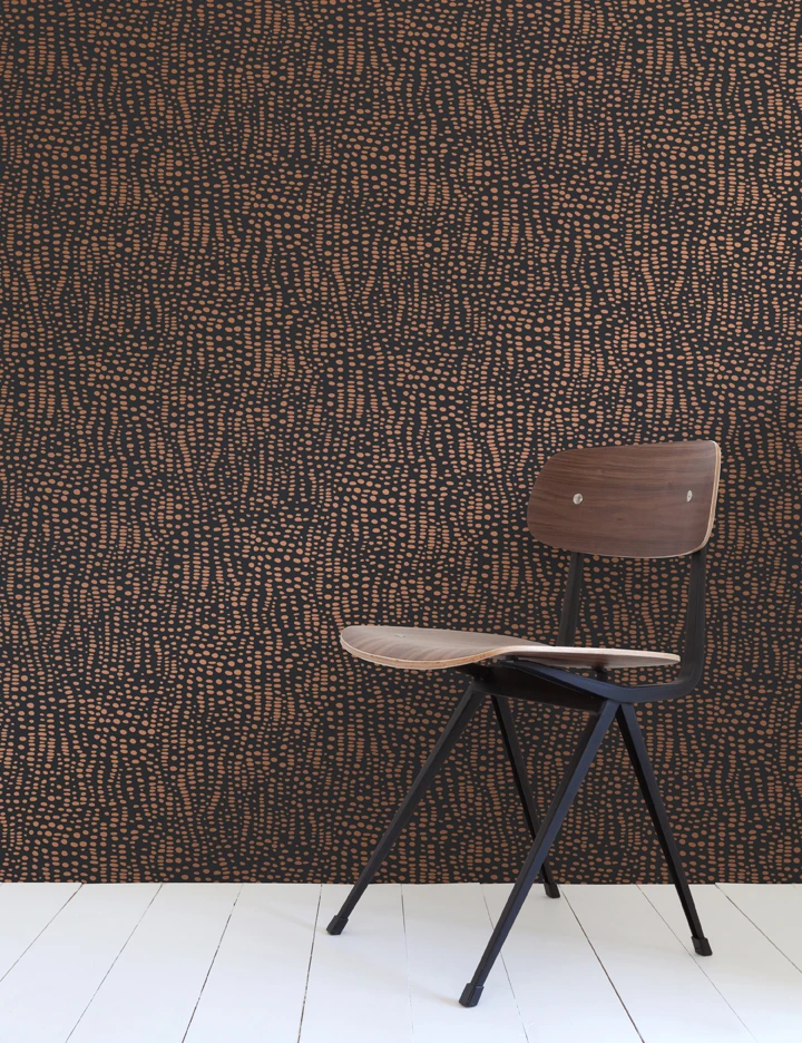 Anemone Metallic Wallpaper by Aimée Wilder. Made in the