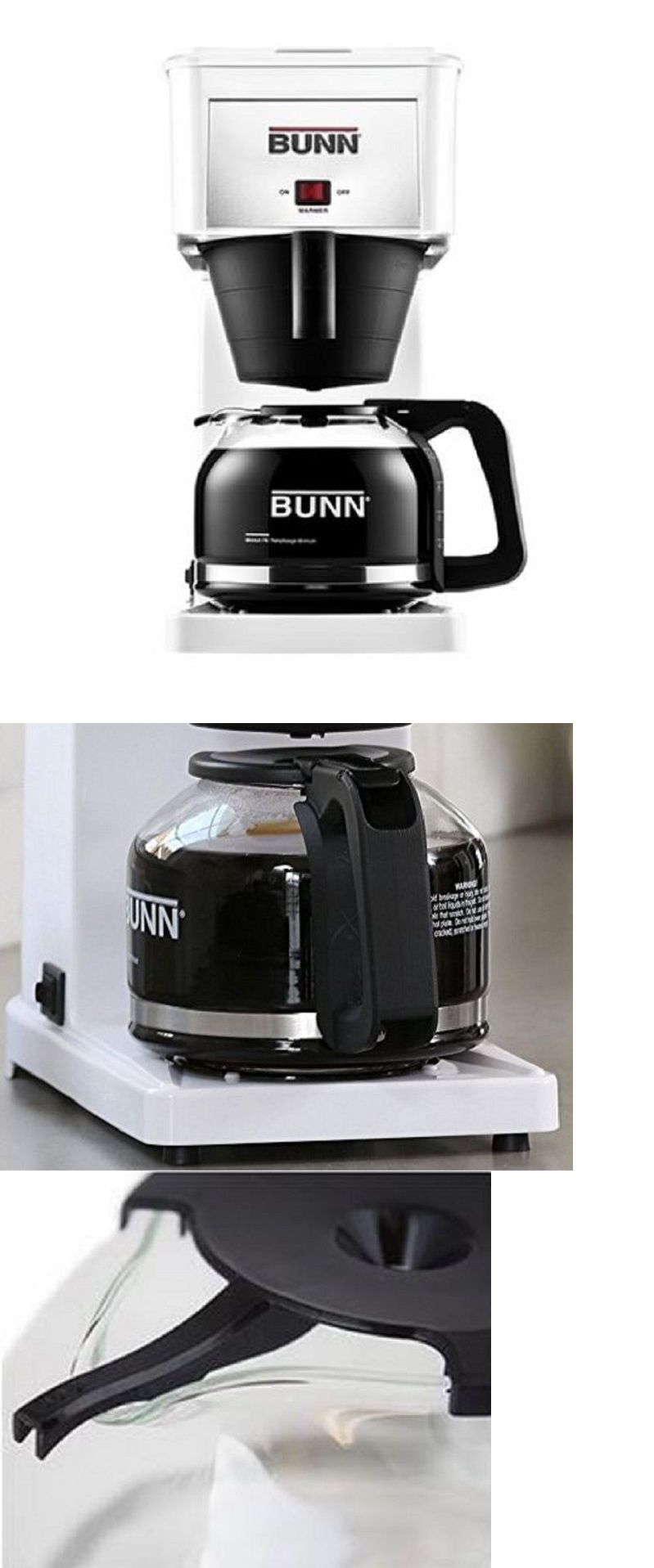 Coffee makers automatic 65635 bunn basic 10cup home