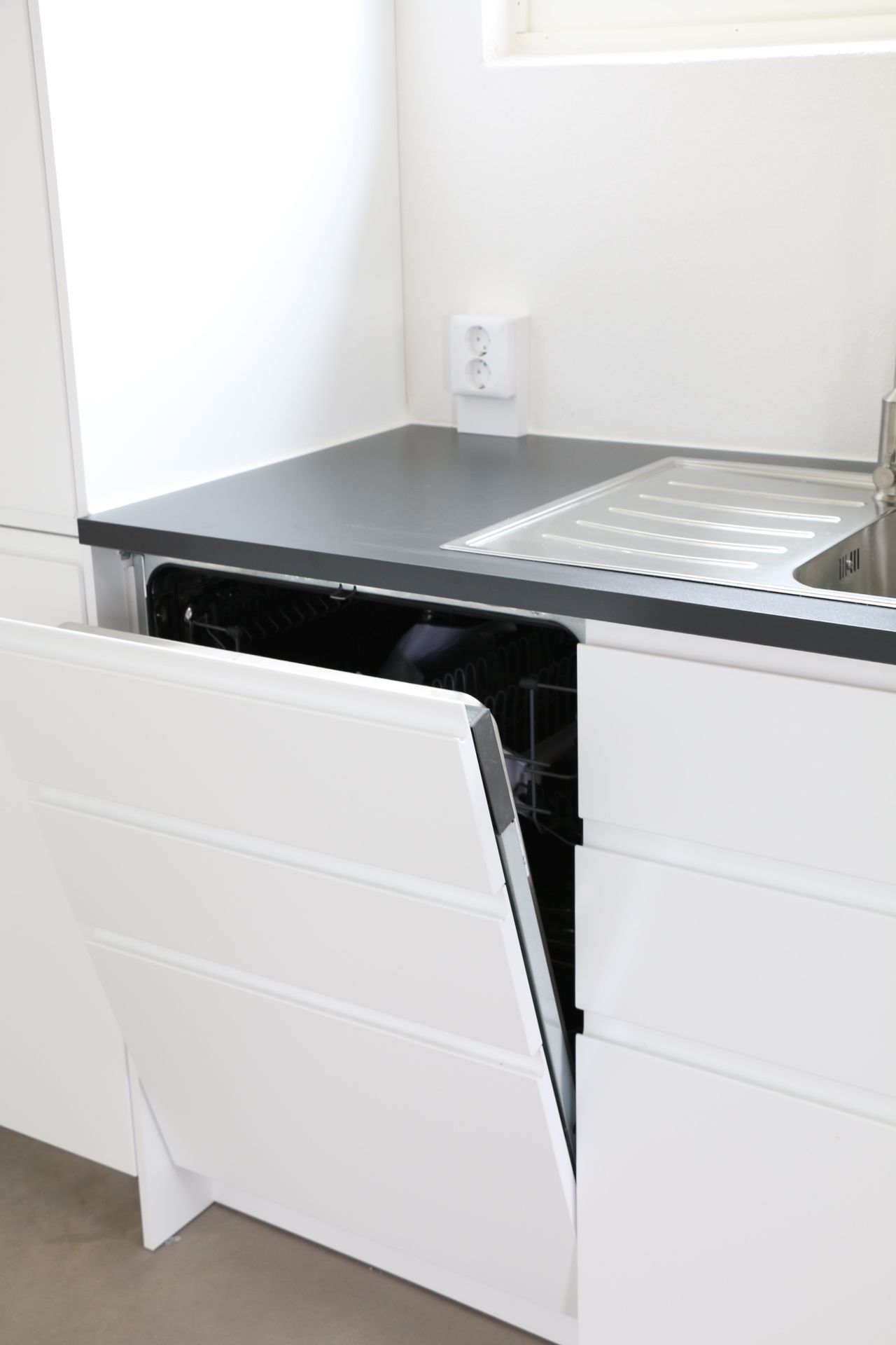 Ikea voxtorp integrerad diskmaskin cucina pinterest for Cuisine voxtorp