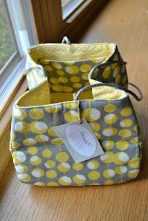 d40b44be7c550 knitting project bag | Sew Lucky | Knitted bags, Bags, Knitting ...