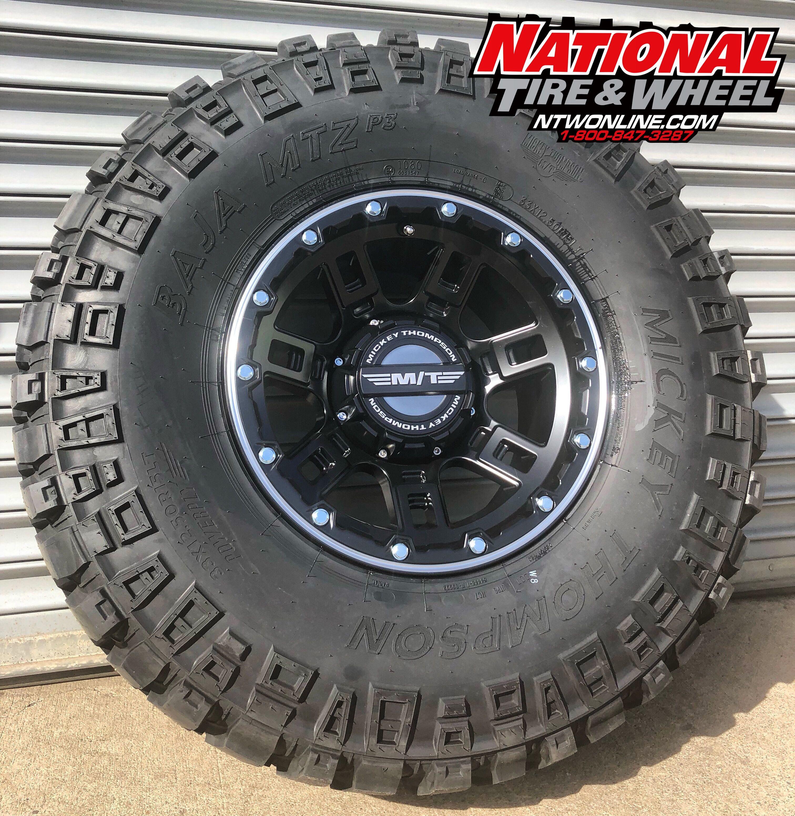 Mickey Thompson Tire & Wheel bo 15X8 Sidebiter Lock mounted up