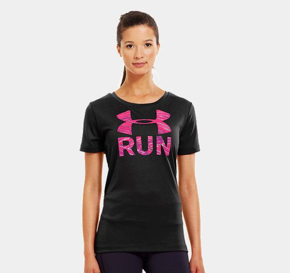 Women's UA Run Print Fill T-Shirt | 1239122 | Under Armour US