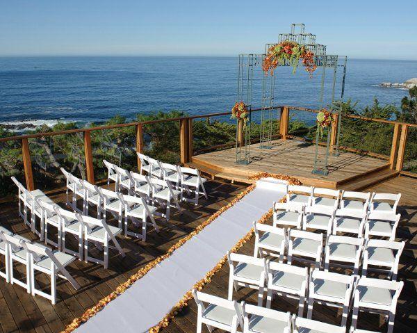 Hyatt Carmel Water View Wedding Ceremony Gazebo