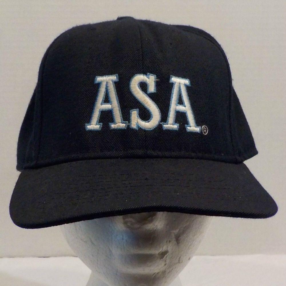 Asa Umpire Hat Cap Baseball Trucker Fitted Trucker Cap Cap Caps Hats