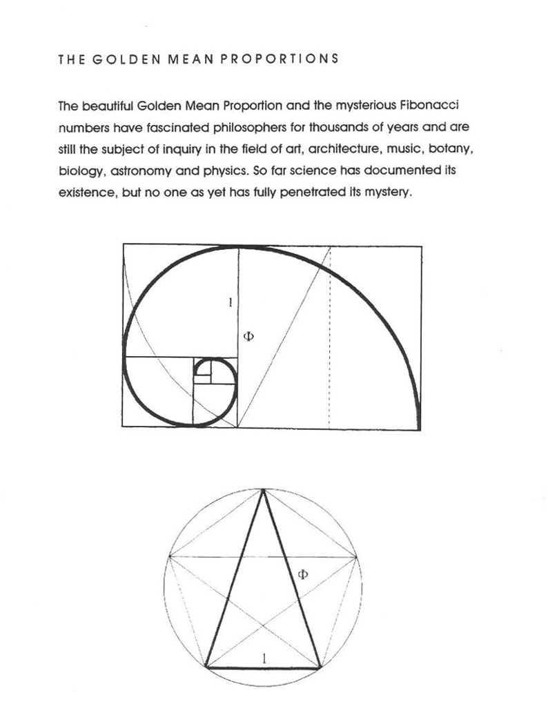 CHAP The Golden Mean: the ideal moderate position between two extremes.  These are the golden mean proportions. The Golden Mean: when divided  horizontally at ...