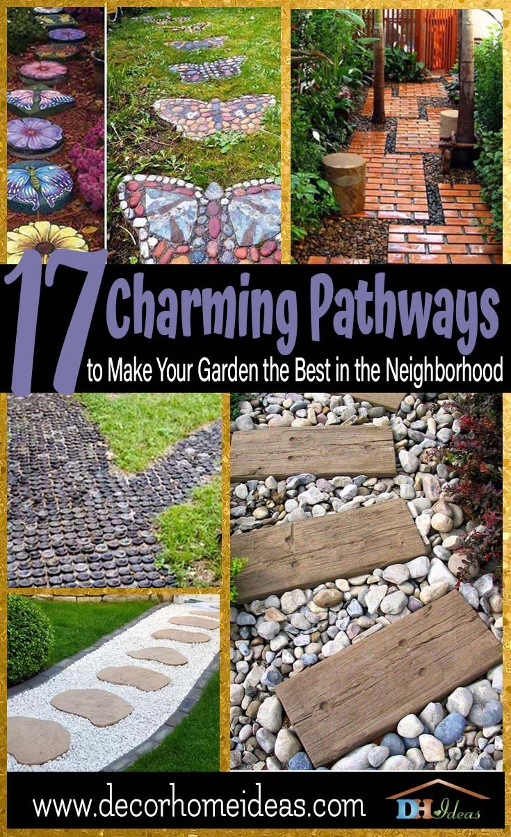 17 Charming Pathways To Make Your Garden The Best In The Neighborhood